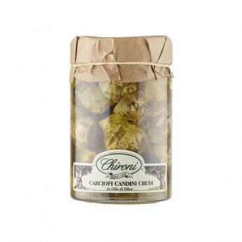 Chironi - Carciofi candini crudi 285g