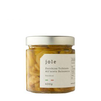 Jole - Zucchine trifolate all'aceto balsamico