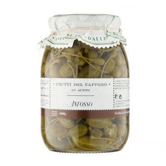 Anfosso - Frutti del cappero in aceto 1000 g